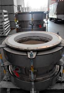 Высокотемпературные (+1000 °C) компенсаторы для установки по переработке золота1.jpg