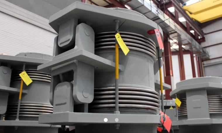 Компенсаторы для установки по сжиганию отходов (КВА) в Швейцарии.jpg