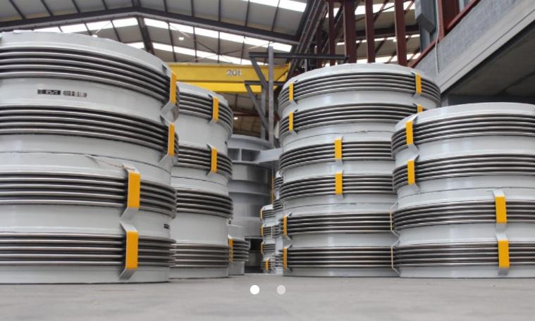 Компенсаторы для установки газоочистки и рекуперации на сталелитейном заводе в России1.jpg