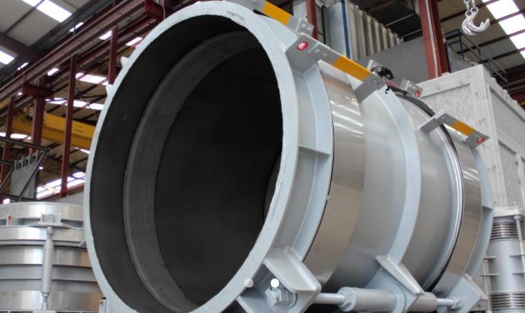 Компания MACOGA поставила крупногабаритные компенсаторы для древесных отходов на электростанцию в Бельгии2.jpg